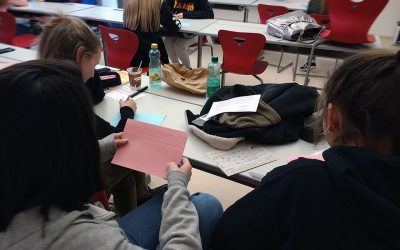 Multiple Digital Storytelling Workshops at the Caritas secondary school HLW Sozialmanagement in Graz, Austria